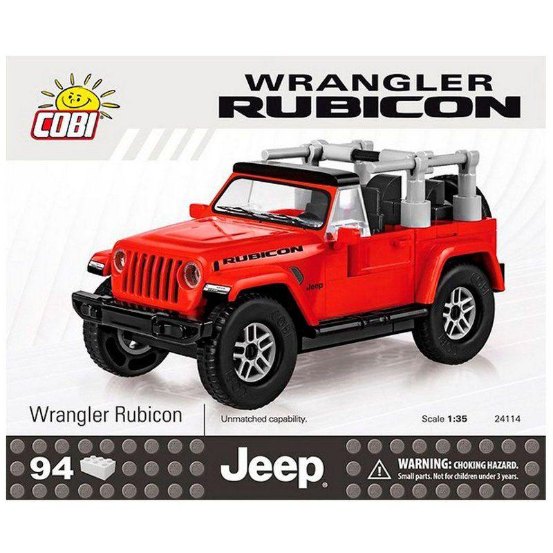 Jeep Wrangler Rubicon blocos para montar com 94 peças Cobi