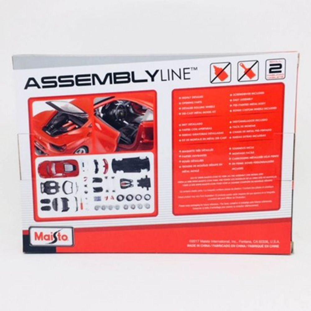 Kit para montar Ferrari 488 GTB 1/24 Maisto Assembly Line