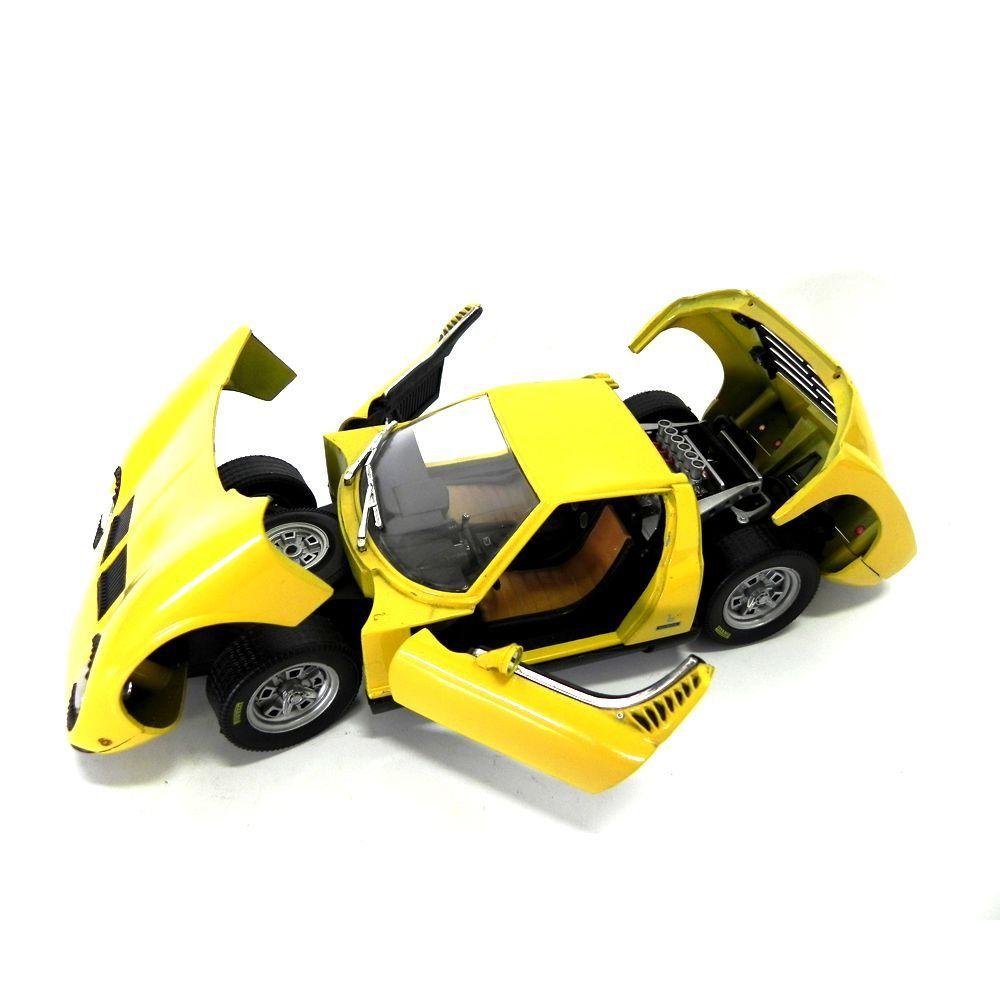 Miniatura Lamborghini Miura 1/18 Majorette