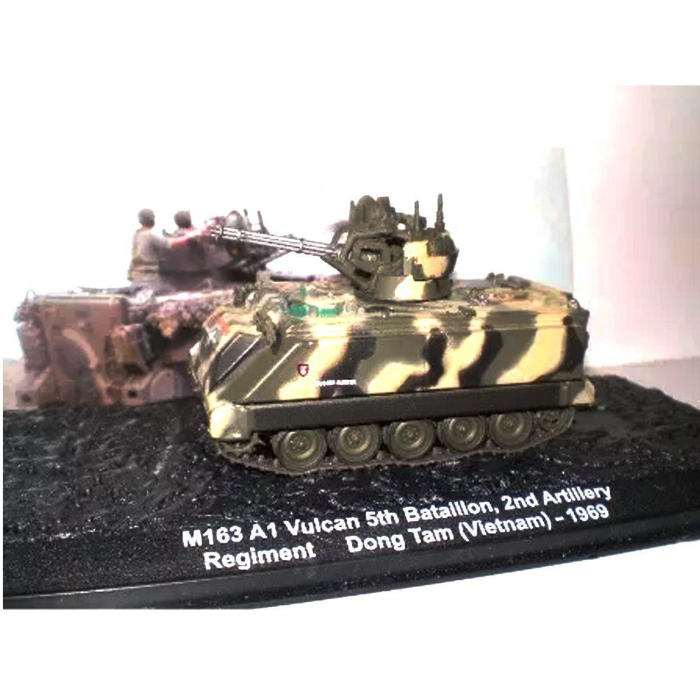 M163 A1 Vulcan 5th Batailion Dong Tam (Vietnam) 1/43 Ixo