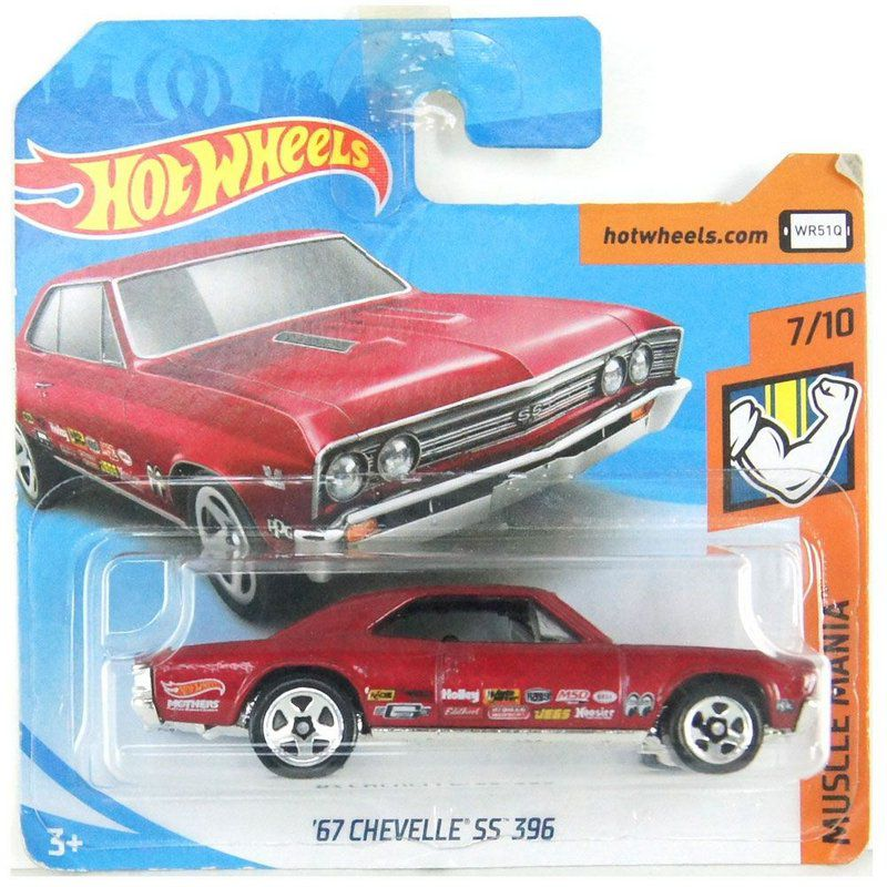 Miniatura 1967 Chevelle SS 396 Muscle Mania 1/64 Hot Wheels