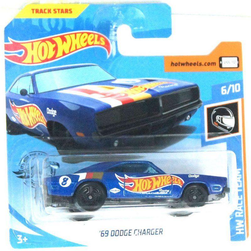 Miniatura 1969 Dodge Charger HW Race Team 164 Hot Wheels