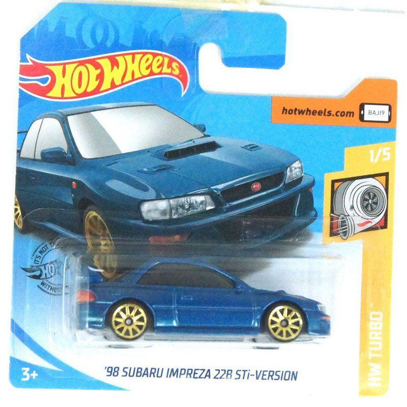 Miniatura 1998 Subaru Impreza 22B Sti-Version HW Turbo 164 Hot Wheels