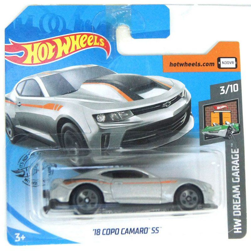 Miniatura 2018 Copo Camaro SS HW Dream Garage 164 Hot Wheels
