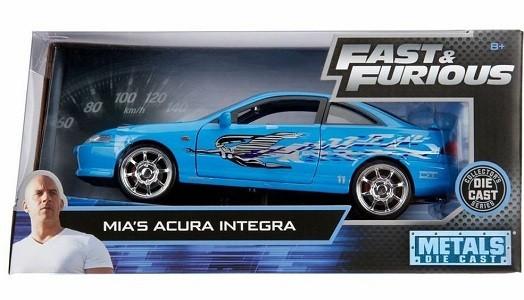 Miniatura Acura Integra Mia Velozes e Furiosos 1/24 Jada Toys