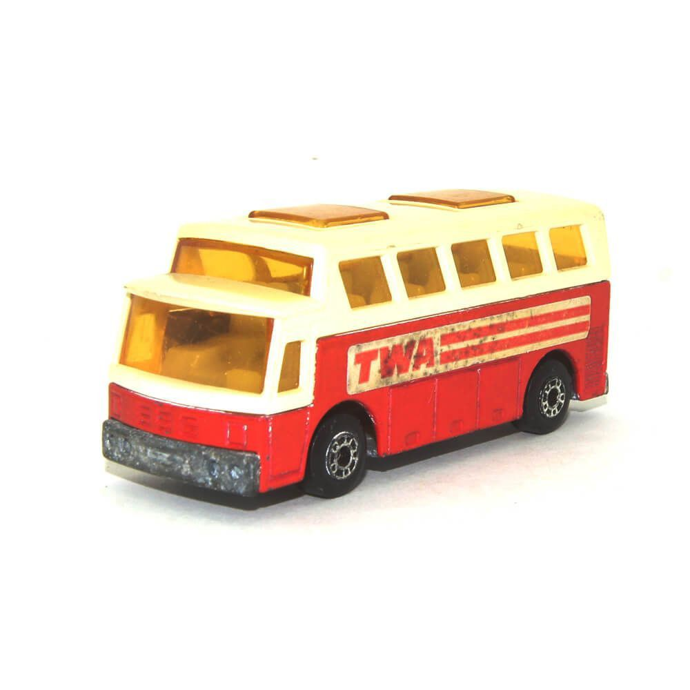 Miniatura Airport Coach TWA Nº65 Anos 70 1/64 Matchbox