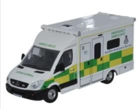 Miniatura Ambulancia Mercedes Scottish  1/76 Oxford
