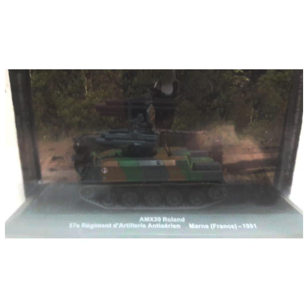 Miniatura AMX30 Roland Marne França 1991 1/43 IXO
