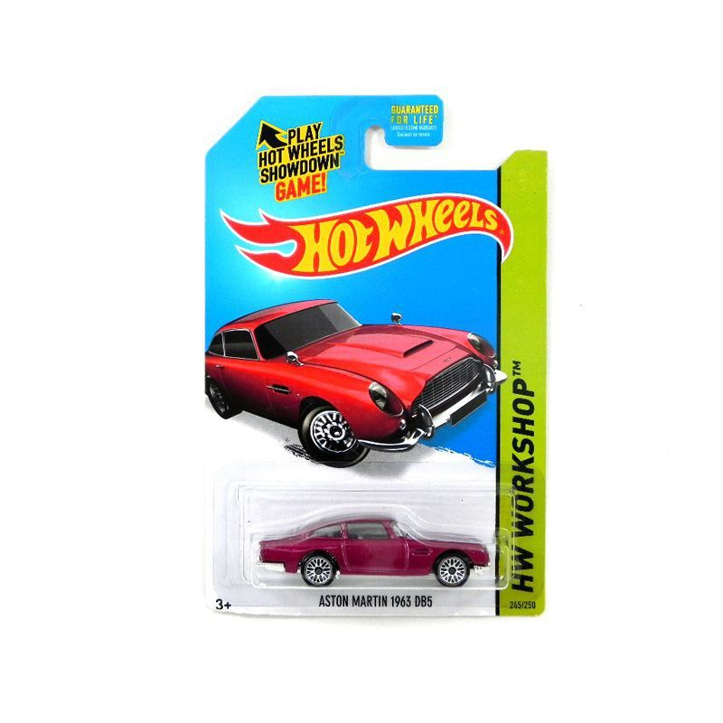 Miniatura Aston Martin Db5 1963 1/64 Hot Wheels Hw Workshop