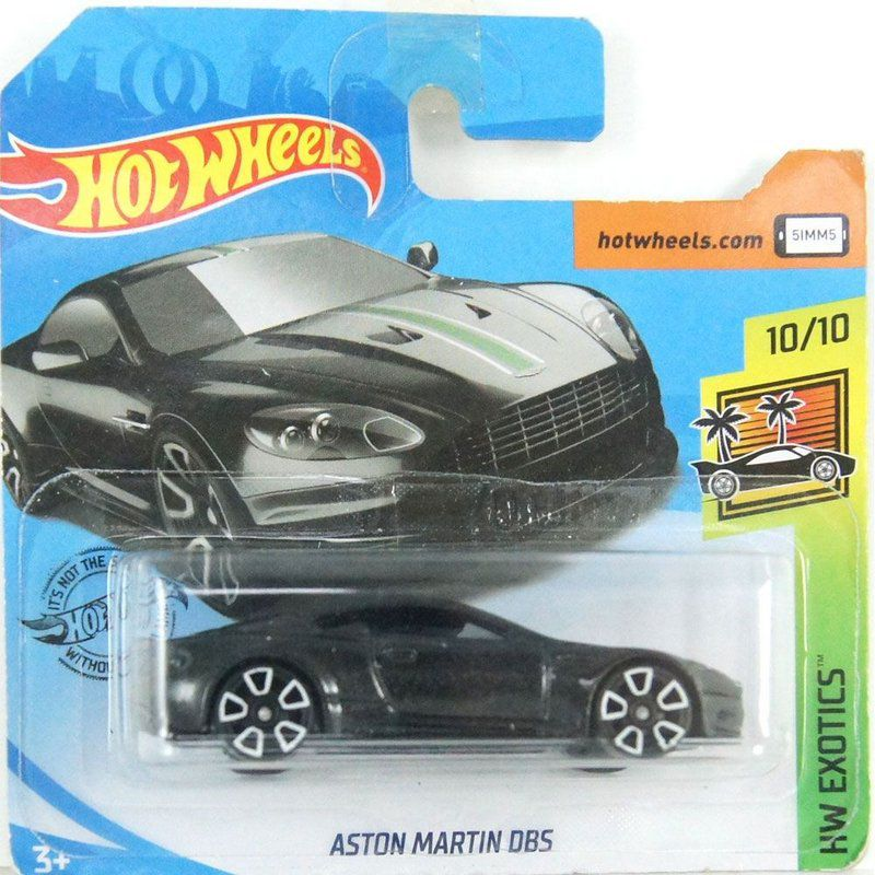 Miniatura Aston Martin DB5 HW Exotics 1/64 Hot Wheels