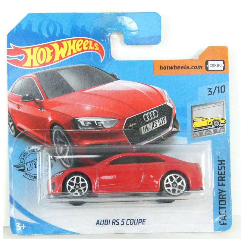 Miniatura Audi R5 5 Coupe Factory Fresh 1/64 Hot Wheels