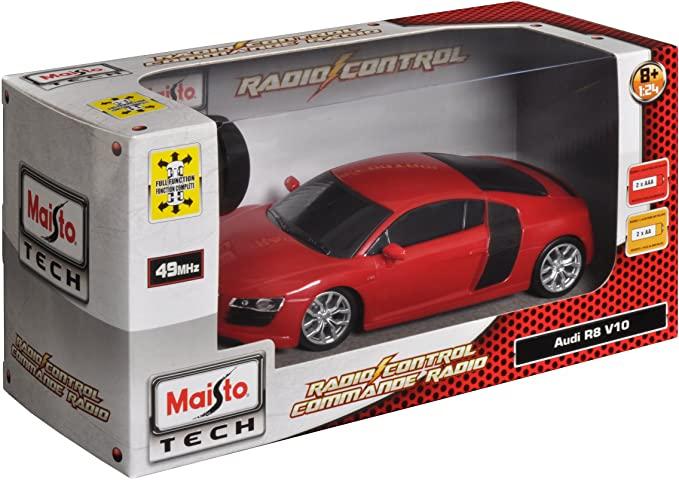 Miniatura Audi R8 Radio Controle 1/24 Maisto