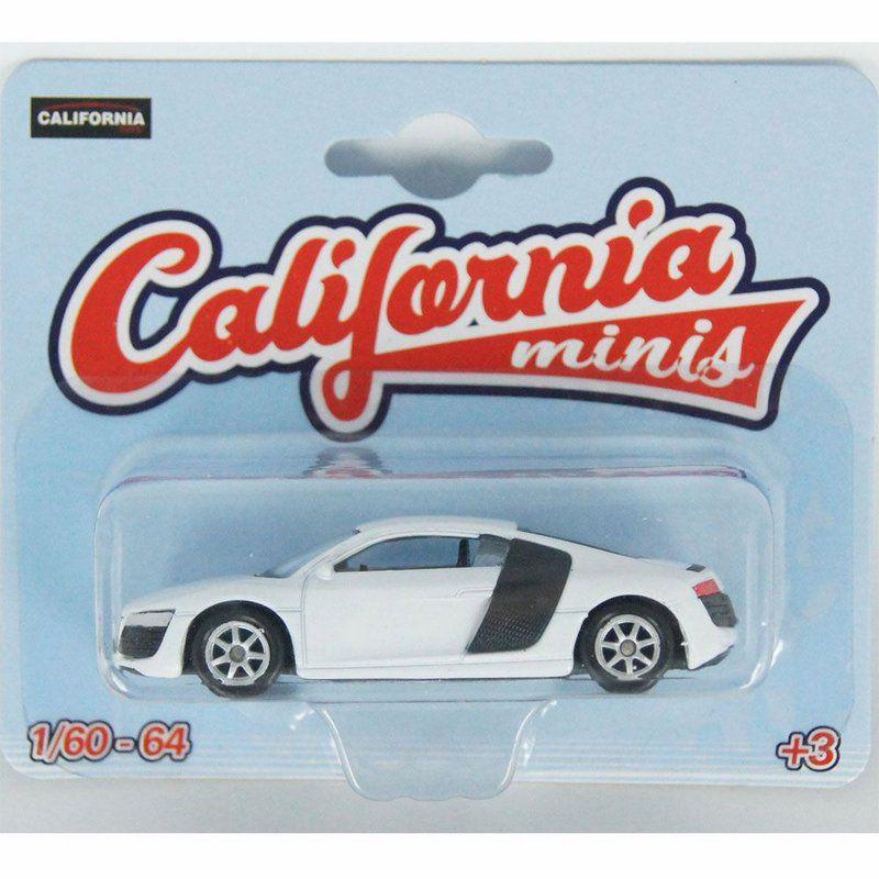 Miniatura Audi R8 V10 1/64 California Minis