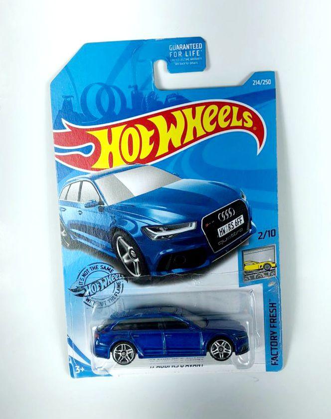 Miniatura Audi RS 6 Avant '17 1/64 Hot Wheels