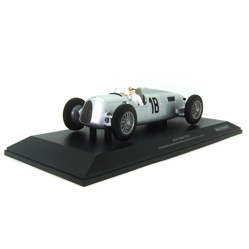 Miniatura Auto Union Type C B. Rosemeyer Vencedor Internationals Eifelrennen 1936 1/18 Minichamps
