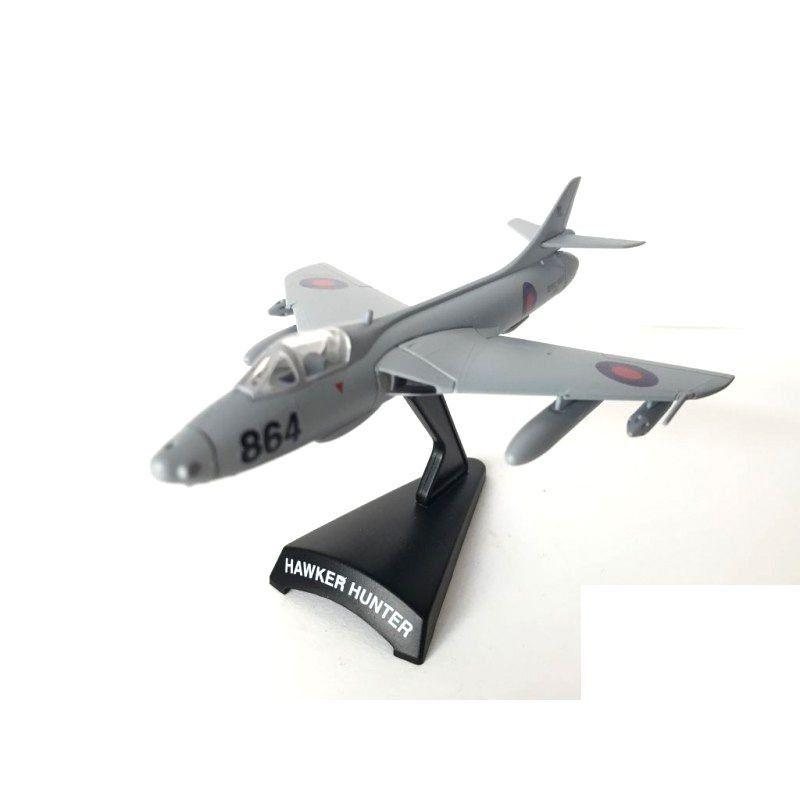 Miniatura Avião Hawker Hunter 1/100 Model Powers 5400
