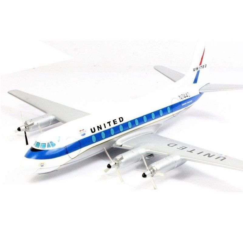 Miniatura Avião United Airlines Vickers Viscount 700 1/144 Corgi