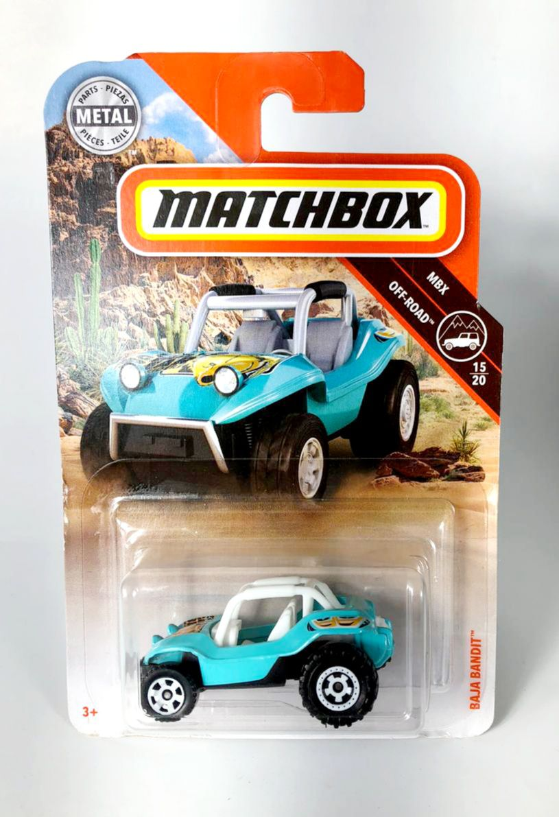 Miniatura Baja Bandit 1/64 Matchbox