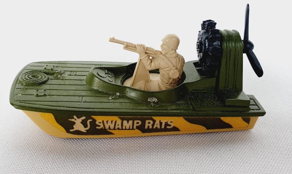 Miniatura Barco Swamp Rat N°30 Superfast 1/64 Matchbox