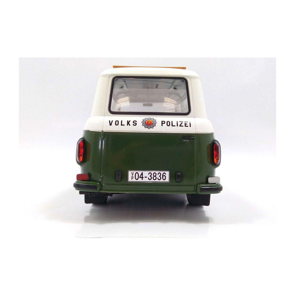 Miniatura Barkas B 1000 Bus Policia 1965 1/18 Model Car