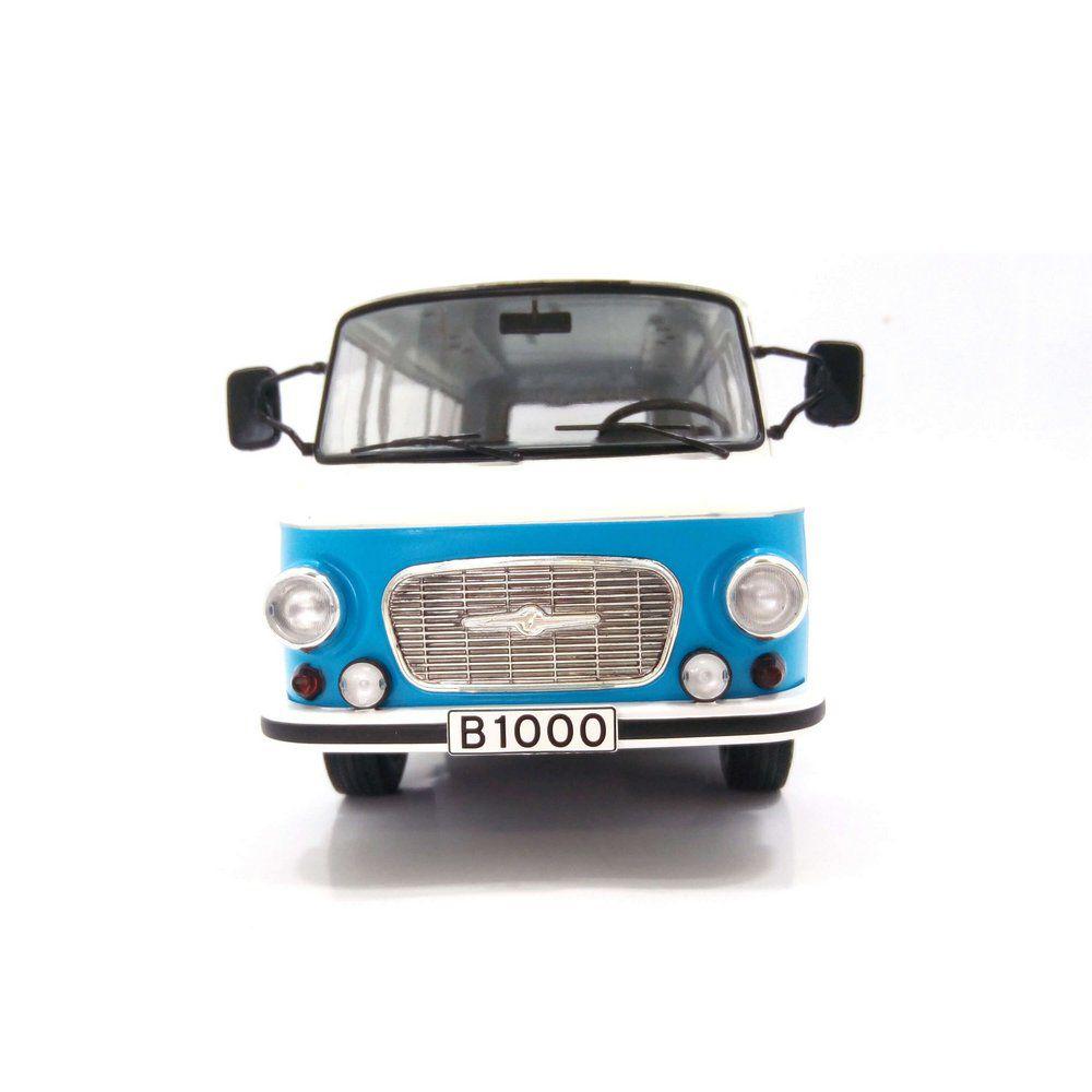 Miniatura Barkas B 1000 Kleinbus 1965 1/18 Model Car