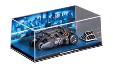 Miniatura Batman Begins Batmóveis Edição 3 1/43 Eaglemoss