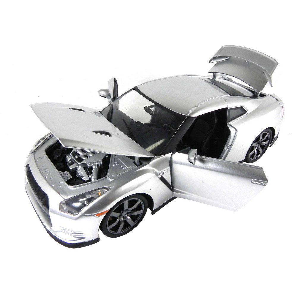 Miniatura Nissan Skyline GtR R35 1/18 Jada Toys