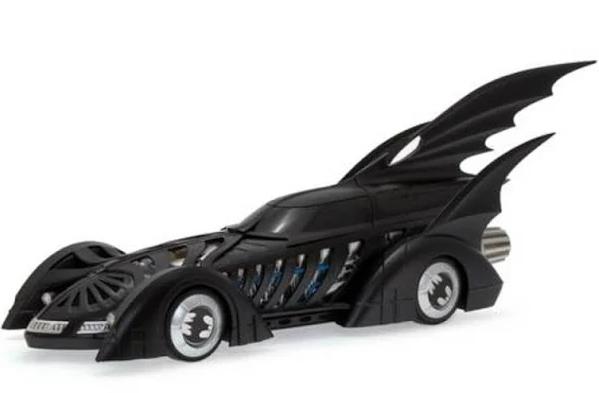 Miniatura Batmovel 1995 Batman Forever Val Kilmer 1/18 Hot Wheels
