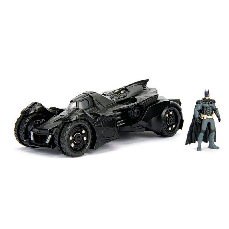 Miniatura Batmovel 2015 Arkham Night com Boneco 1/24 Jada Toys