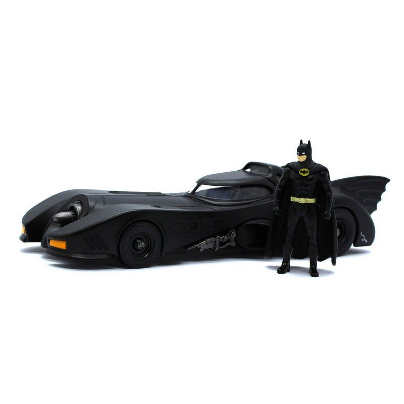 Miniatura Batmovel do filme Batman 1989 Michael Keaton 1/24 Jada Toys