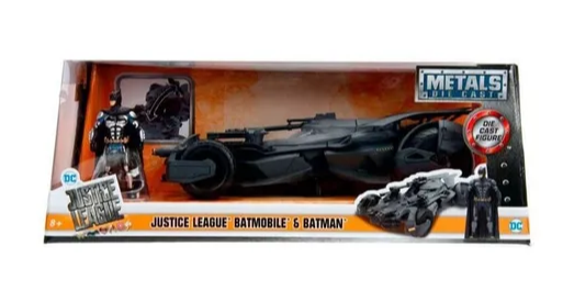 Miniatura Batmovel Justice League DC Batman 1/24 Jada Toys