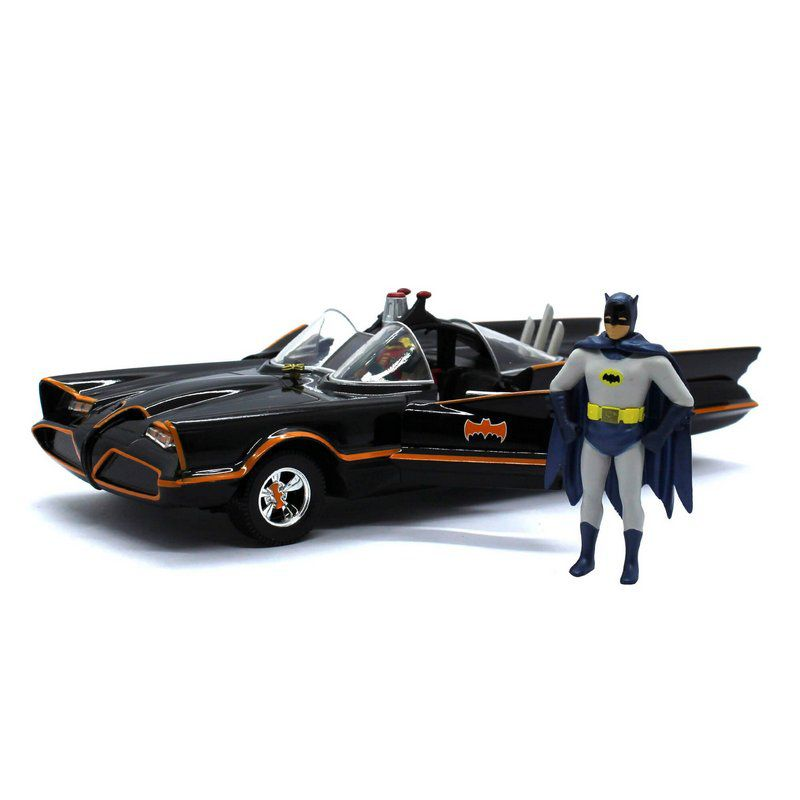 Miniatura Batmovel Serie TV Clássica do Batman 1/24 Jada Toys