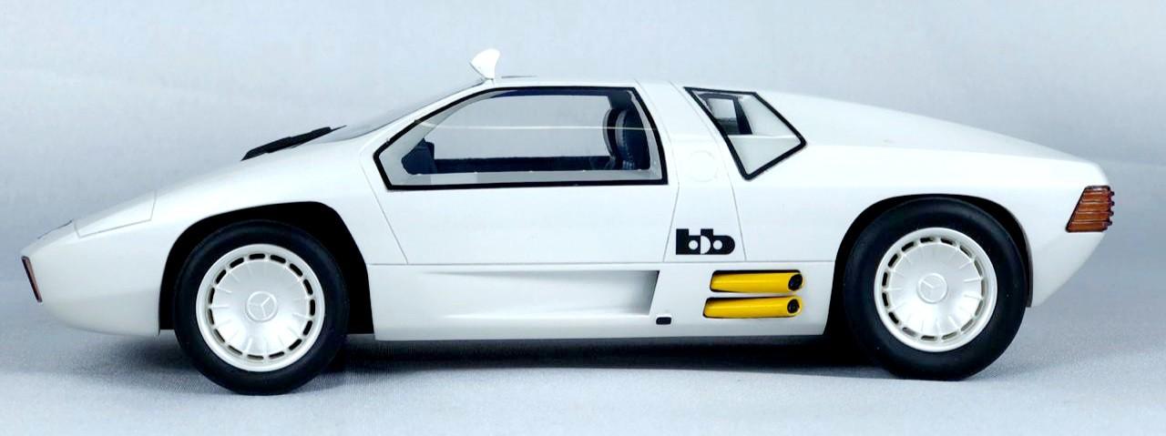 Miniatura Mercedes Benz Protótipo B&B CW311 1978 1/18 Bos Best of Show