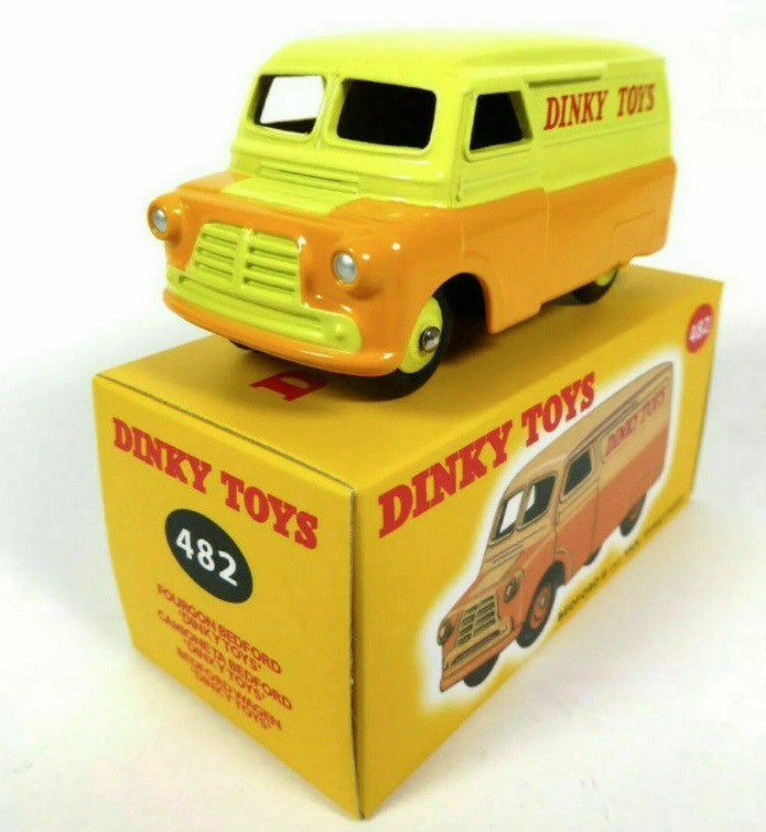Miniatura Bedford 10 CWT Van 1/43 Dinky Toys