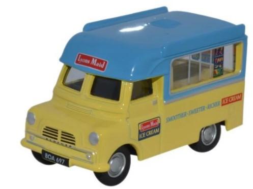 Miniatura Bedford CA Ice Cream Lyons 1/76 Oxford