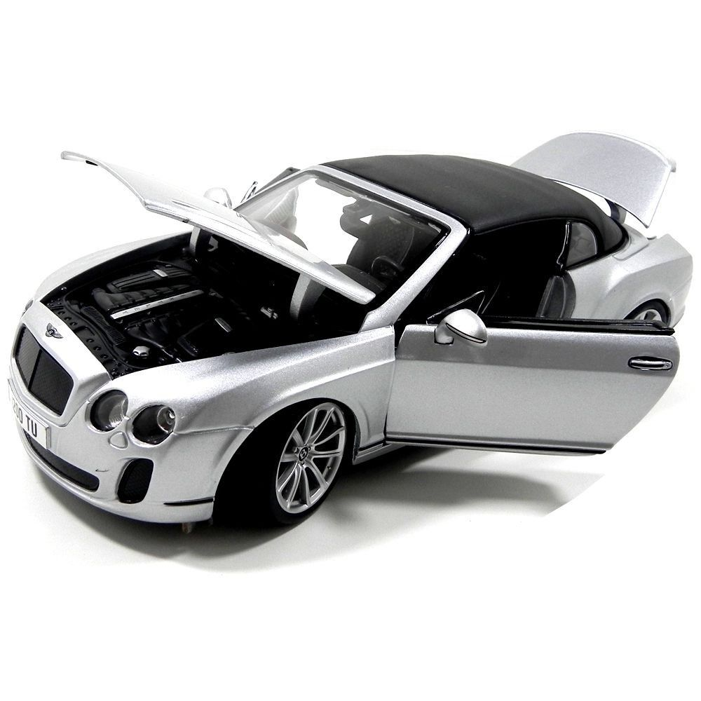 Miniatura Bentley Continental 1/18 Bburago