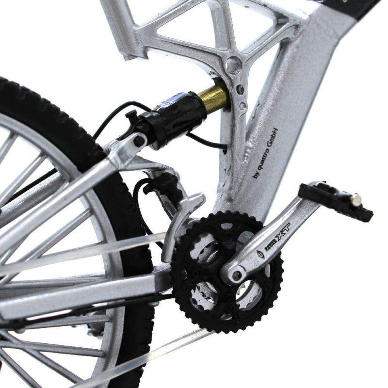 Miniatura Bicicleta Audi Design Cross Pro 1/10 Welly