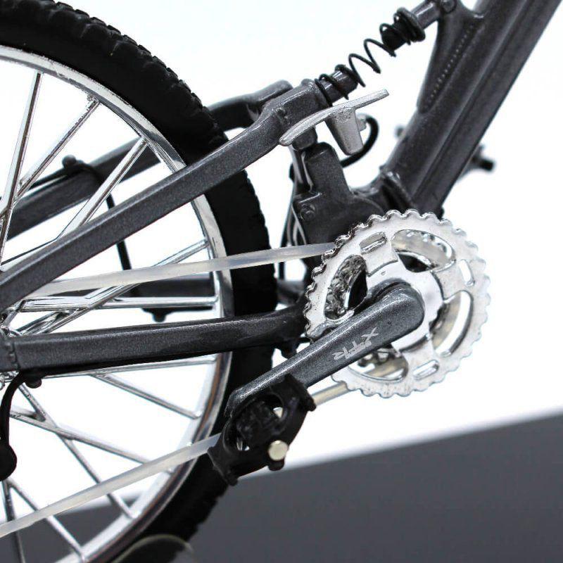 Miniatura Bicicleta BMW QS XTR 1/10 Welly