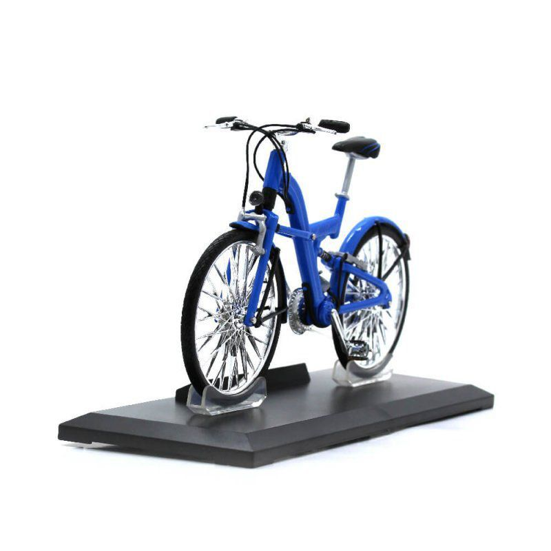 Miniatura Bicicleta BMW QT 1/10 Welly