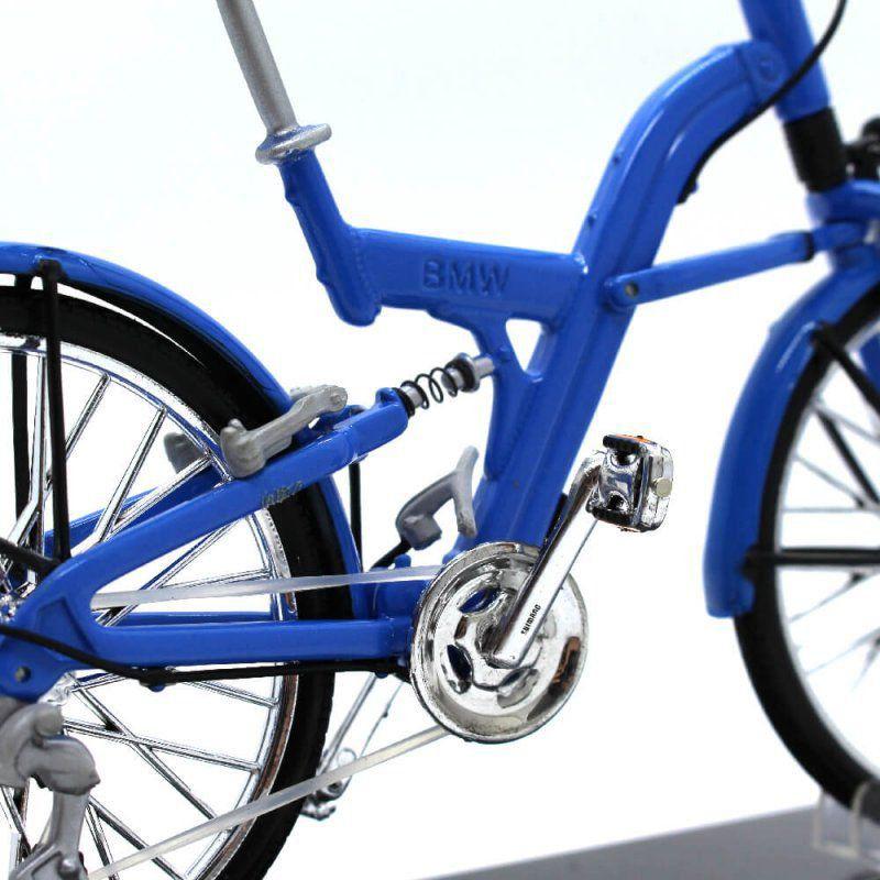 Miniatura Bicicleta BMW QT 1/10 Welly