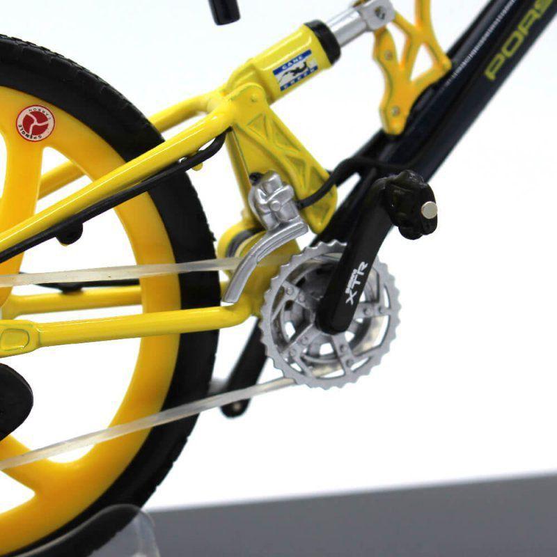 Miniatura Bicicleta Porsche FS Evolution 1/10 Welly