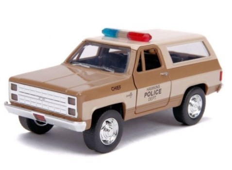Miniatura Blazer 1980 Stranger Things 1/32 Jada Toys