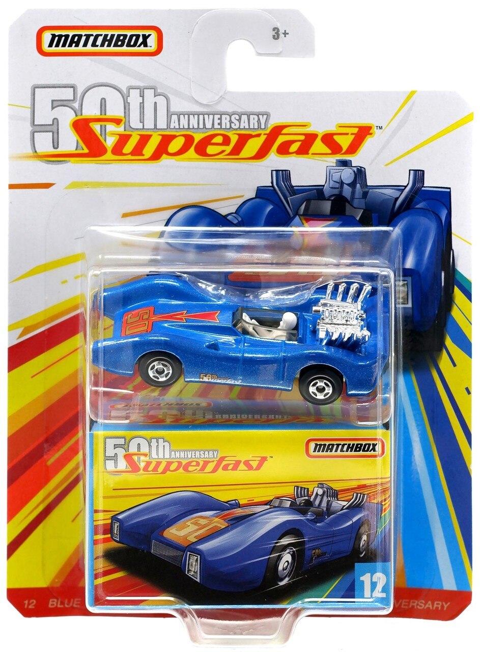 Miniatura Blue Shark 12 50th Anniversary Superfast 1/64 Matchbox
