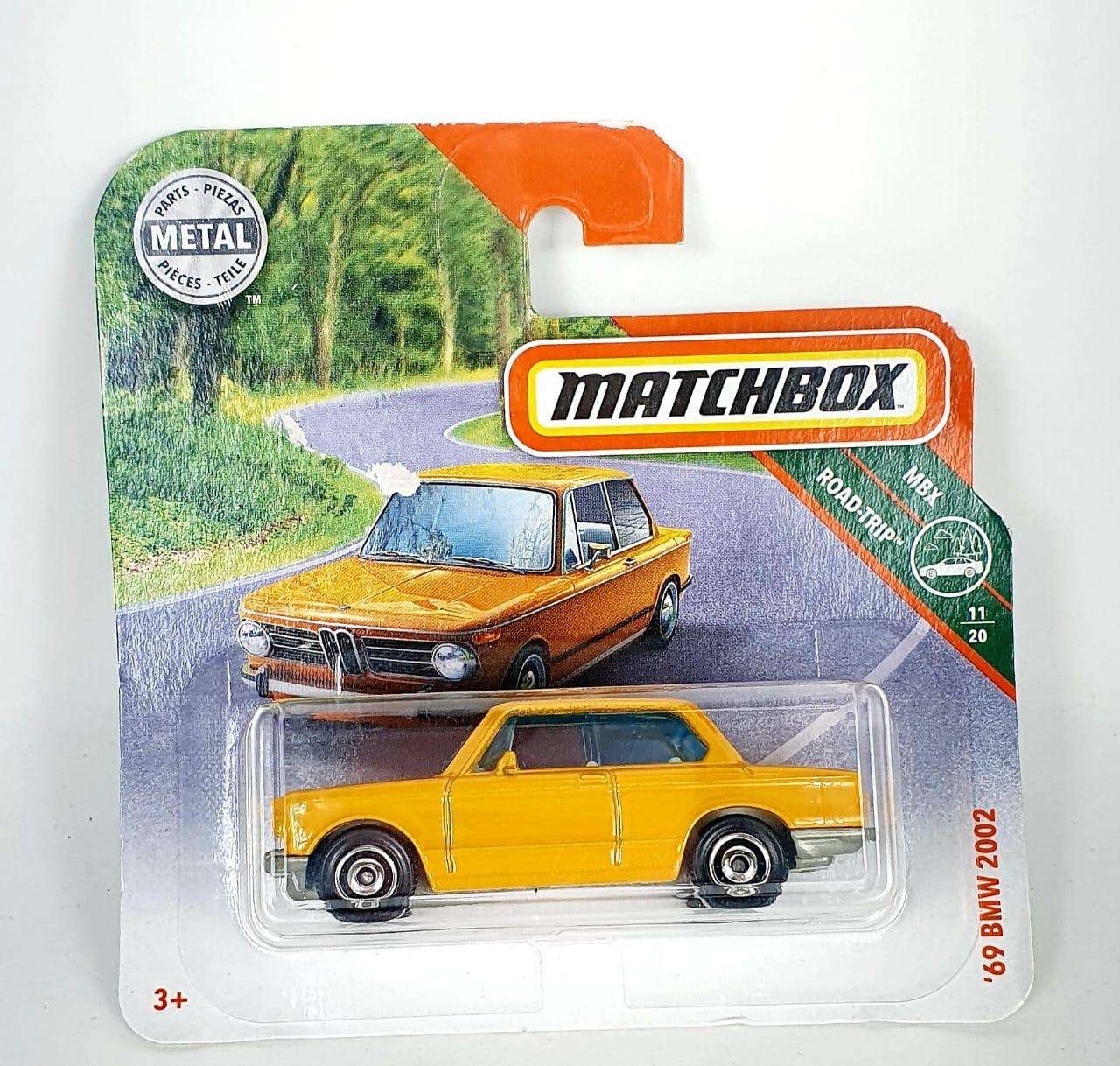 Miniatura BMW 2002 1969 1/64 Matchbox
