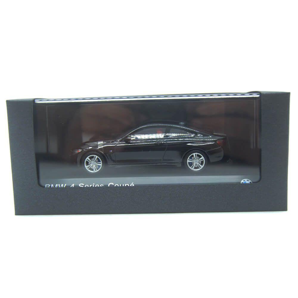 Miniatura BMW 4 Serie 435I Coupe 2014 Preto 1/43 Paragon