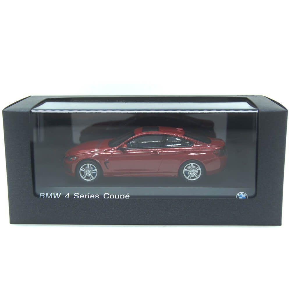 Miniatura BMW 4 Serie 435I Coupe 2014 Vermelho 1/43 Paragon