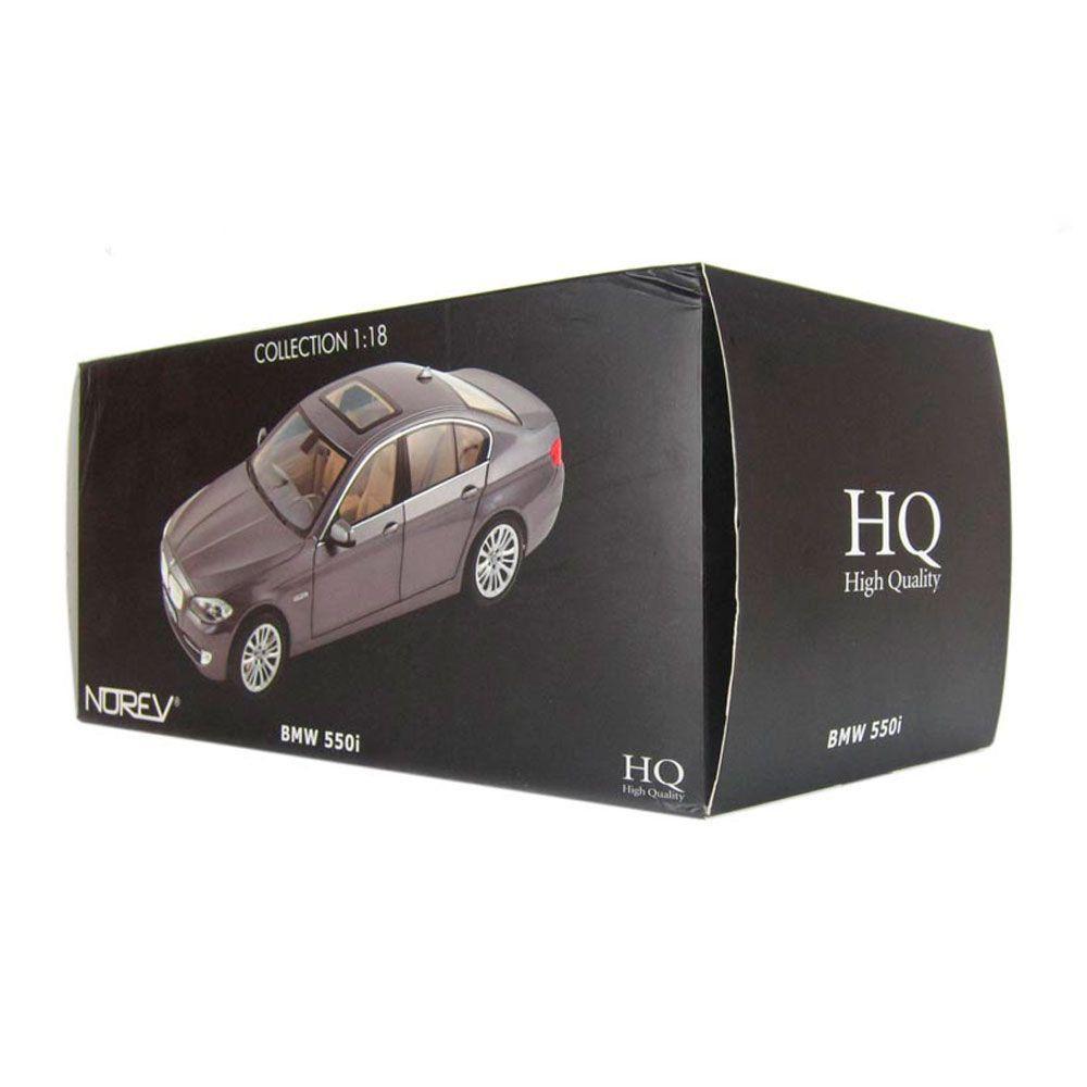 Miniatura Bmw 550I 1/18 Norev