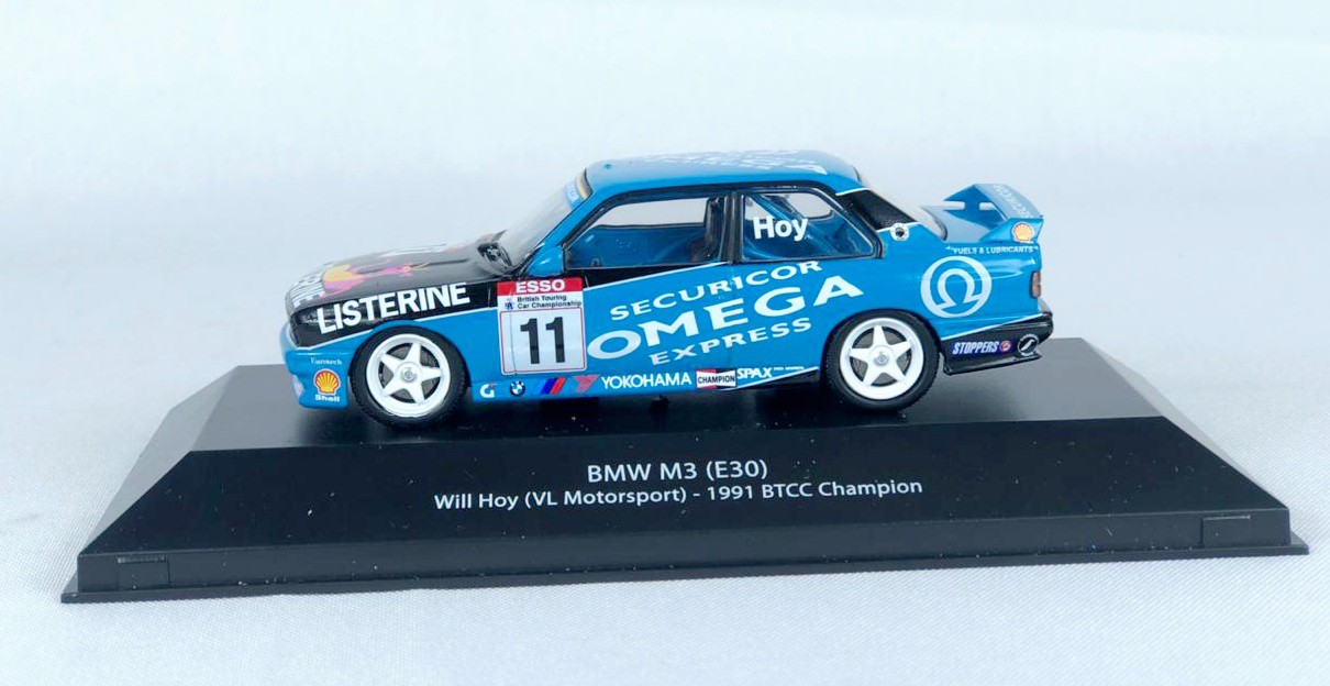Miniatura BMW M3 1991 BTCC Champion 1/43 Atlas