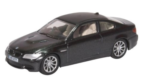 Miniatura BMW M3 Coupe E92 Black 1/76 Oxford