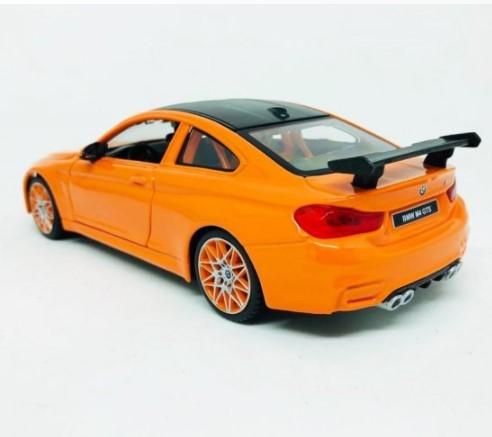 Miniatura BMW M4 GTS Laranja 1/24 Maisto